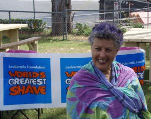 Janet's Shave for a Cure